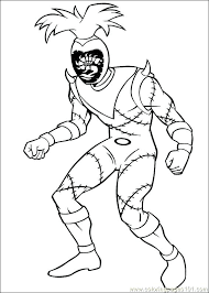 Power Rangers Coloring Pages Free Power Rangers Coloring Pages