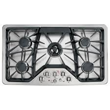 gas stove top burners.  Gas GE Cafe 5Burner Gas Cooktop Stainless Steel Common 36 In Stove Top Burners R