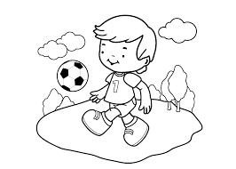 Kleurplaat Voetbalveld Kleurplaat Voetbal Download 28 Leukste