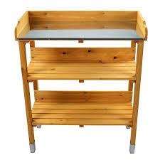 Potting Benches Amazoncom Potting Benches Tables Patio Lawn Garden