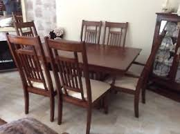 image is loading extending dining room table and 6 chairs cream