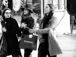 street fashion photography essay paris london edge of  chanel girls