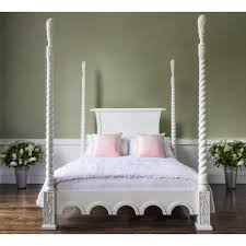 Provencal Bedroom Furniture Provencal Four Poster White Bed Luxury Bed