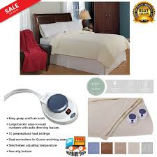 details about openbox perfect fit softheat micro fleece low voltage electric heated blanket
