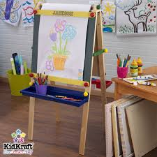 calmly personalized artist easel in paper roll by kidkraft personalized artist easel easel sugar in art