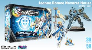 soda pop miniatures relic knights releases jeanne romee navarre hauer