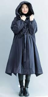 Women Casual Hoodie <b>Black Wind Coat</b> Loose <b>Spring</b> Outfits ...