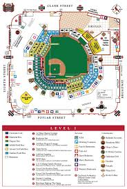 Busch Stadium Map Hawaii Tourist Attractions Map