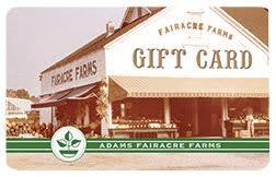 adams gift card farm stand