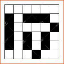 Blank Crossword Template 2424 Blank Crossword Leterformat 17