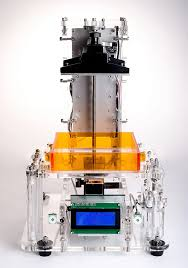 sla 3d printer diy kit acrylic structure