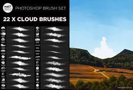 Photoshop Cloud Brushes On Behance
