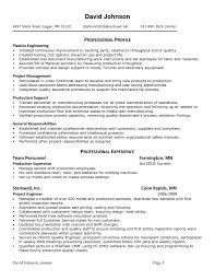 Resume Format For Internal Job Application