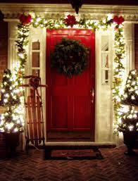easy outside christmas lighting ideas. Outdoor Christmas Decorating : Front Porch Ideas - Outdoor-christmas -decorating-ideas- Easy Outside Lighting