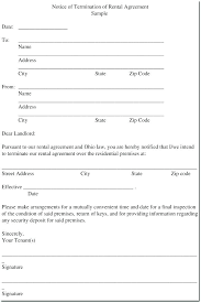 Termination Paperwork Template Lease Termination Letter Templates