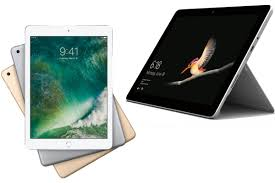 Business Tablet Head To Head Apple Ipad Vs Microsoft Surface Go For