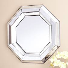 Harper Blvd Alena Octagonal Decorative Mirror (OS2839SW), Silver