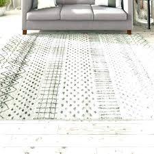 light gray area rug hand