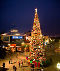 San Franciscou0027s Pier 39 Holiday Tree  Must Return To SF Christmas Tree In San Francisco
