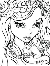 Coloring Pages Of Girl Tattoo Coloring Page Girl Skull Tattoo