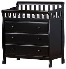 Dream On Me Marcus Changing Table And Dresser Black Craftsmanchanging Tables  Houzz