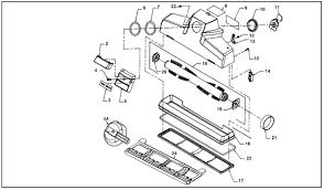 kirby sentria vacuum parts diagrams schematics evacuumstore com kirby sentria rug plate