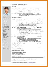 7 An Example Of A Curriculum Vitae Historyvs The Davinci Code