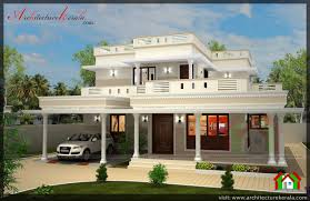 4 bed house plan with pooja room