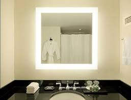 lighted makeup mirror lighted