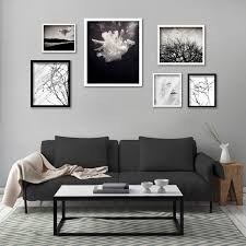 black picture frames wall. Plain Black Framed Monochrome Gallery Wall  6 Prints White And Black Frames By  Natascha Van And Black Picture Frames