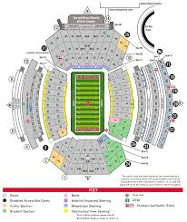 Nebraska Cornhuskers Stadium Seating Chart Husker Football Stadium Outside Startfaqe Brazil