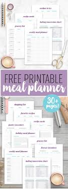 family menu template the 25 best meal planning templates ideas on pinterest weekly