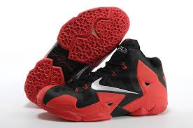 lebron red shoes. black and red lebron 11 shoes