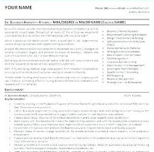 Entry Level Business Analyst Resume – Lifespanlearn.info