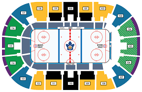 Air Canada Centre Seating Chart Hockey Seating Chart Toronto Marlies