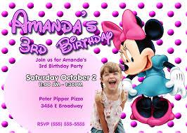 baby mickey mouse invitations birthday mickey mouse birthday invitation card best of mickey and minnie