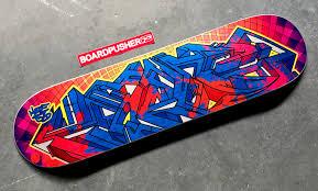 Artist Designed Skateboards Street Art