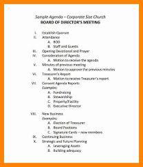 Board Meeting Agenda Template Shatterlion Info
