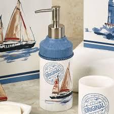 Nautical Bathroom Set Nautical Bathroom Accessories Sets Nautical Bathroom Accessories