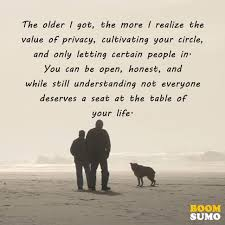 Privacy Quotes Custom Positive Life Quotes I Realize The Value Of Privacy BoomSumo Quotes