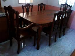 delightful wonderful seater solid narra dining table able seater solid narra dining table best dining room