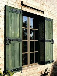 house shutters wood board and batten wood shutters farmhouse with