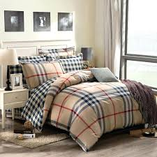 attractive design ideas plaid duvet covers king buffalo check cover sham red black pottery barn