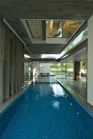 Indoor Pool, Glass Walls, Poona House in Mumbai, India by Rajiv Saini |  Architecture | Pinterest | Indoor pools, Mumbai and Walls