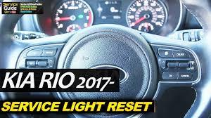 Reset Service Light Audi Q5 2018 2019 Kia Rio Service Required Warning Light Reset