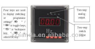 frequency meter panel digital display simple connection diagram hz frequency meter panel digital display simple connection diagram hz meter