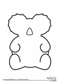 animal templates. Modren Templates Koala Frame Intended Animal Templates T