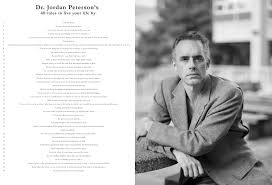 Somanyposters Jordan Peterson 40 Rules To Live Your Life By Postera4 Size8 X 12