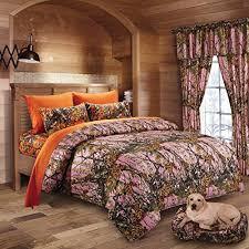 20 lakes hunter camo pink orange bed