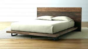 Reclaimed Wood Bed Frame King Distressed Wood Bed Frames Distressed ...